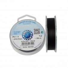 Nitka Power Nylon do koralików black 0,17mm