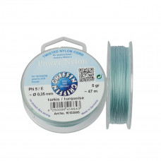 Nitka Power Nylon do koralików turquoise 0,35mm