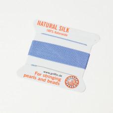 Nici jedwabne z igłą blue 0,5 mm