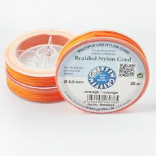 Griffin nylonowy sznurek do makramy orange 0,5mm