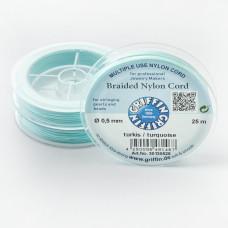 Griffin nylonowy sznurek do makramy turquoise 0,5mm