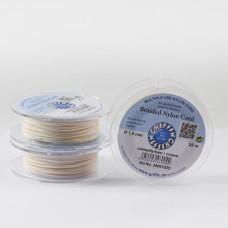 Griffin nylonowy sznurek do makramy cream 1mm