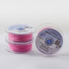 Griffin nylonowy sznurek do makramy dark pink 1mm