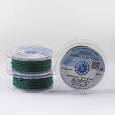 Griffin nylonowy sznurek do makramy dark green 1mm
