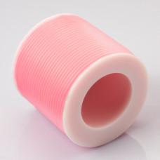 Tuba kauczukowa 2mm różowa neon