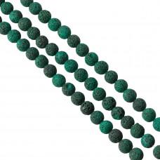 Lawa barwiona emerald kulka 14mm