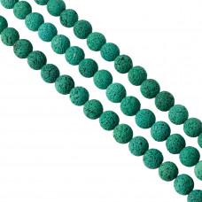Lawa barwiona emerald kulka 16mm