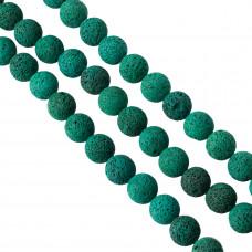 Lawa barwiona emerald kulka 20mm