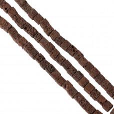 Lawa brązowa kostka 12mm