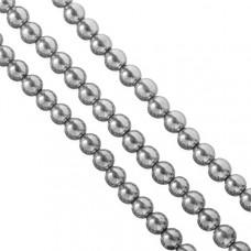 Hematyt kulka srebrna 10mm