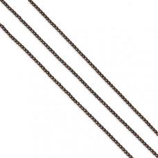 Hematyt kulki platerowane brązowe 2mm
