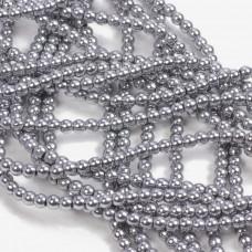 Hematyt kulki srebrne 3mm