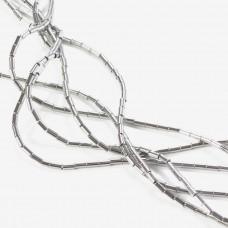 Hematyt walec kolor srebrny 2x4mm
