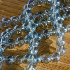 Kryształ górski kulka gładka błękitna 6mm