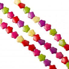 Howlit multikolor kwiatek 15mm