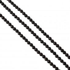 Howlit kulka fasetowana czarna 8mm