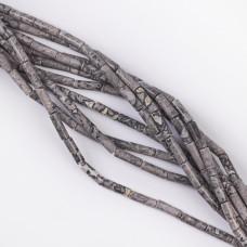 Jaspis walec gładki 13x4mm