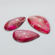 Kaboszon jaspis cesarski nieregularny różowy 20-50mm