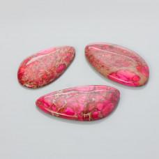 Kaboszon jaspis cesarski nieregularny różowy 25-50mm