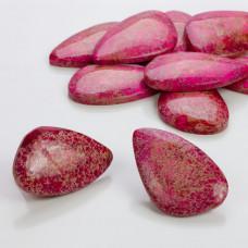Jaspis cesarski łezka nieregularna różowy 40-50mm