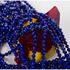 Lapis lazuli kulka fasetowana 3mm