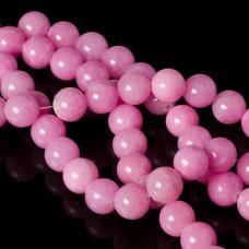 Jadeit marmurkowy kulki różowe 12mm