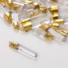 Kryształ górski zawieszka biała 20-30mm