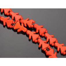 Howlit dziewczynka pomarańczowa 15x22mm