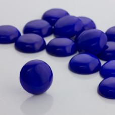 Jadeit kaboszon krążek niebieski 20mm