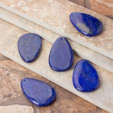 Lapis lazuli zawieszka łezka 54x34.5mm