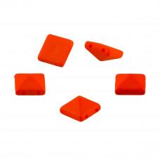 Ćwieki piramidki neon orange 10mm
