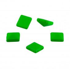 Ćwieki piramidki neon green 10mm
