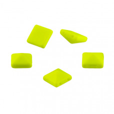 Ćwieki piramidki neon yellow 10mm