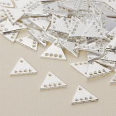 Baza z dziurkami trójkąt 13x15 mm