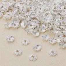 Czapeczka na koraliki kwiatek 8 mm
