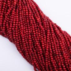 Koral czerwony kulka gładka 4.5mm