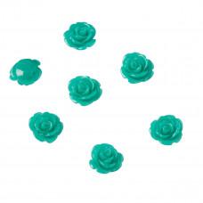 Koral różyczka zielona 15mm