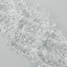 Kryształki drop fasetowane crystal 6x11mm