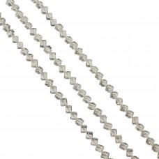 Kostki fasetowane crystal 6mm