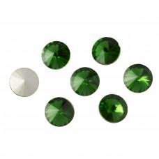Kryształek rivoli fern green 10mm