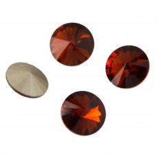 Kryształek rivoli red magma 14mm