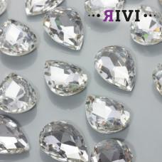 Kaboszon kryształowy crystal 18x25mm