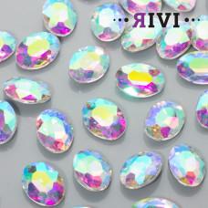 Kaboszon kryształowy crystal AB 13x18mm