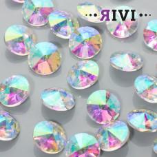 Kaboszon kryształowy crystal AB 16mm