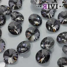 Kaboszon kryształowy black diamond 16mm