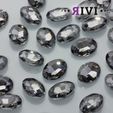 Kaboszon kryształowy black diamond 13x18mm