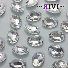 Kaboszon kryształowy crystal 13x18mm