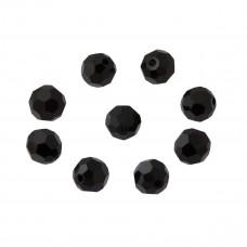 Kryształki kulki fasetowane jet 8mm