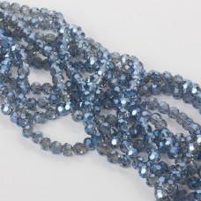 Kryształki kulki fasetowane 32 cuts mistic blue 6mm