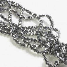 Kryształki kulki silver 4mm